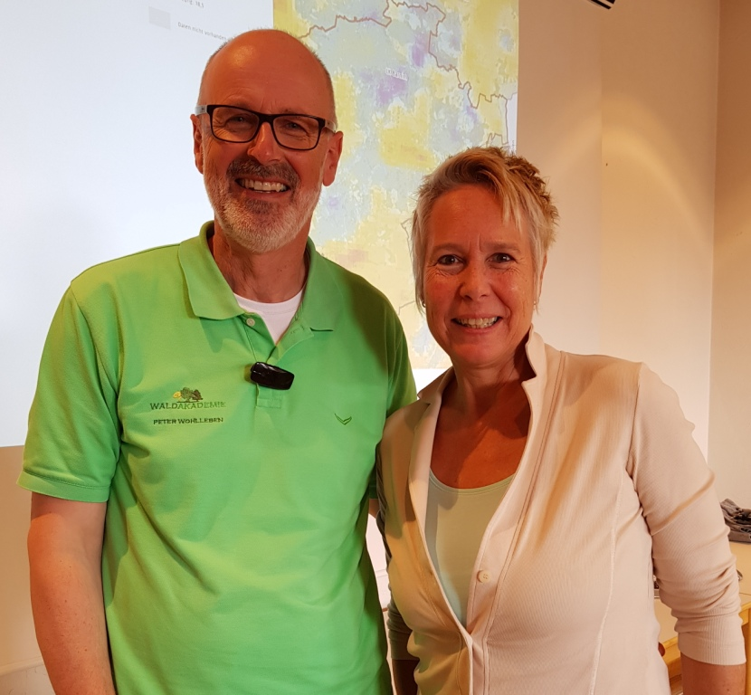 Peter Wohlleben empfiehlt Beate Kochs Waldworkshops